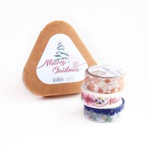 Holiday Washi Tape Gift Box - Design by Willwa
