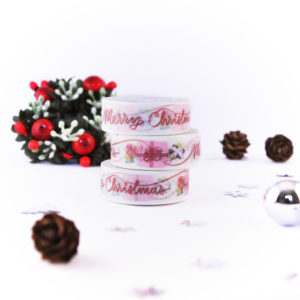 Merry Christmas Washi Tape - Design by Willwa