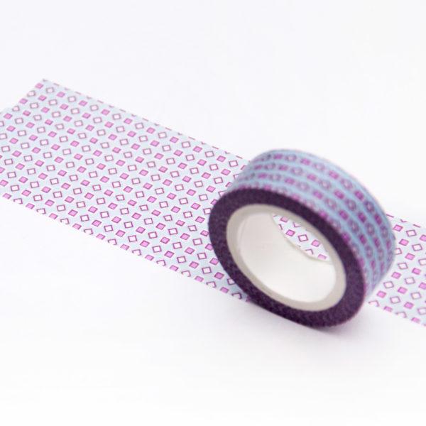 Pop Diamonds Washi Tape - Design by Willwa