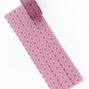 Square Roses Washi Tape - Design by Willwa