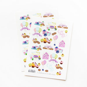 Celebration Stickers - Design by Willwa