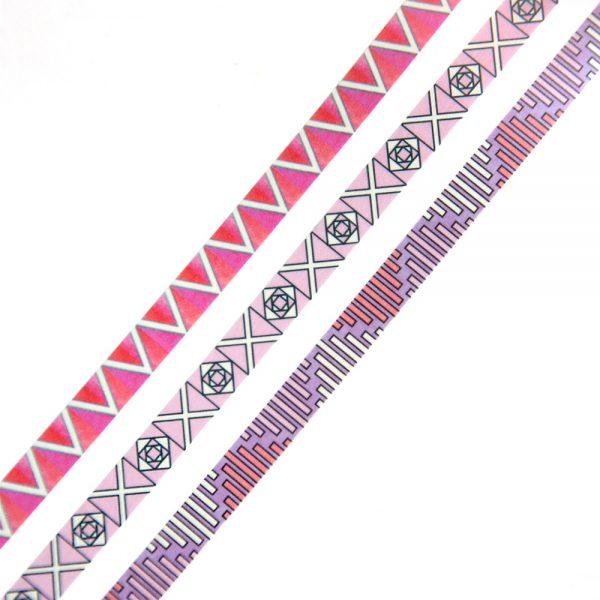 Slim Graphic washi tape set 1