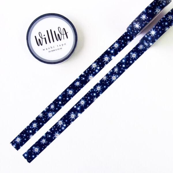 Starry Night Washi Tape - Design by Willwa