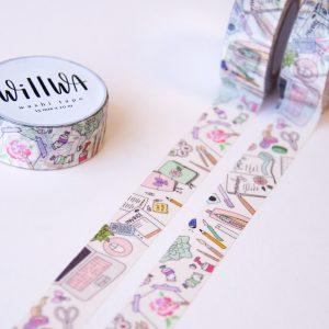 My Everyday Workspace Washi Tape - Design by Willwa