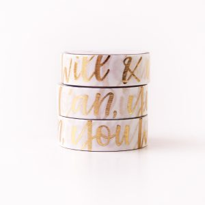 You Can Quote washi tape Design by Willwa