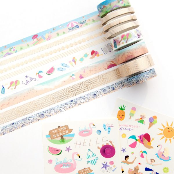 Day at the Beach Collection - Design by Willwa