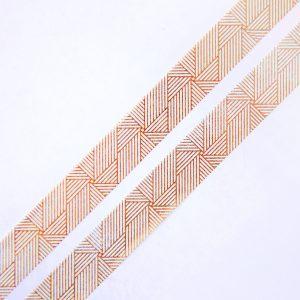 Gold Linjar Spiral washi tape design by Willwa 3