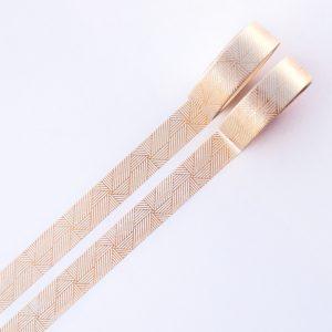 Gold Linjar Spiral washi tape design by Willwa 4