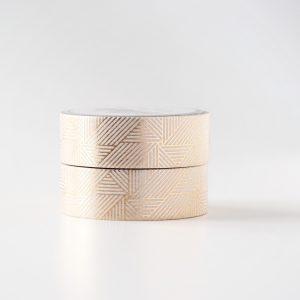 Gold Linjar Spiral washi tape design by Willwa 6