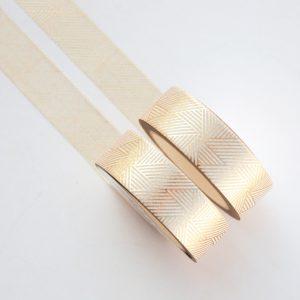 Gold Linjar Spiral washi tape design by Willwa 5