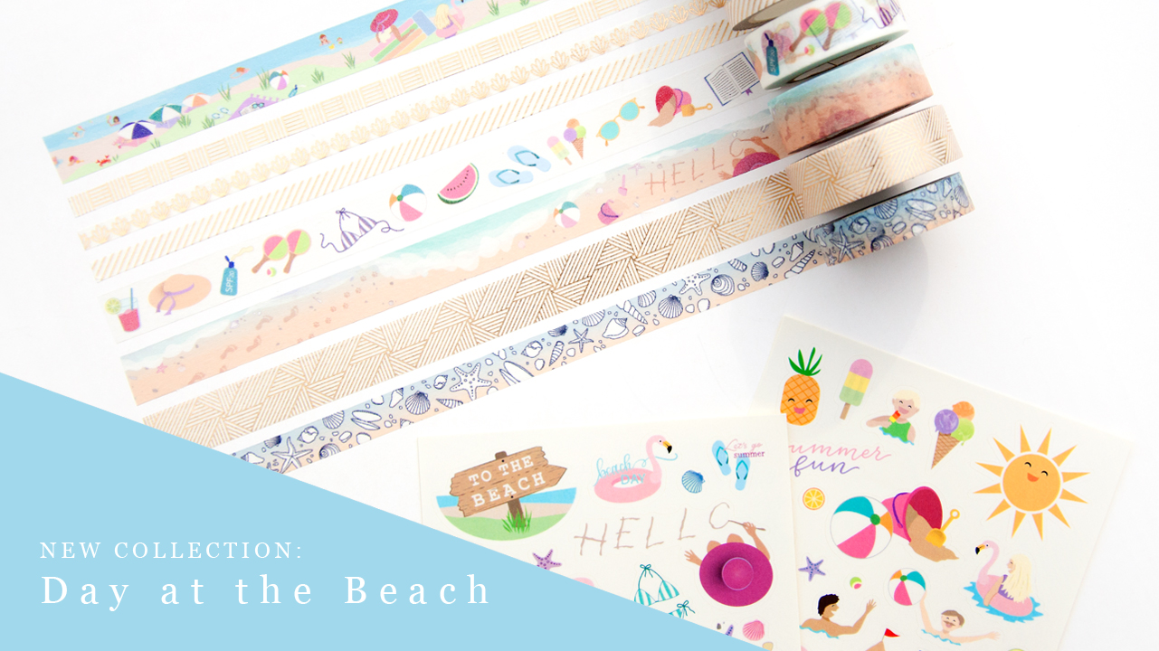 New Collection Day at the Beach - Design by Willwa