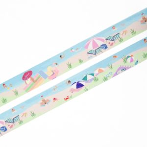 To the Beach Washi Tape - Design by Willwa