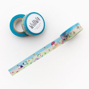 To the Beach Washi Tape - Design by Willwa