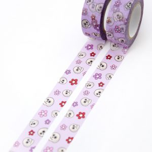 Floral Skulls Washi Tape - Design by Willwa