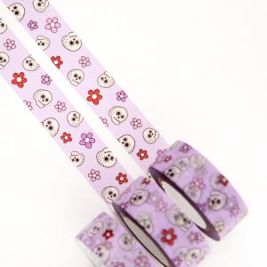 Floral Skulls Washi Tape - Design by Willwa
