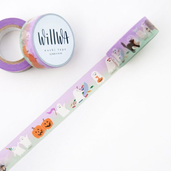 Ghost Hour Washi Tape - Design by Willwa