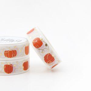 Gilded Pumpkins Washi Tape - Design by Willwa
