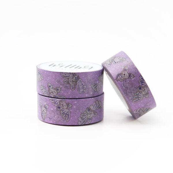Happy Bats Washi Tape - Design by Willwa