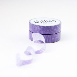 Spider Web Washi Tape - Design by Willwa