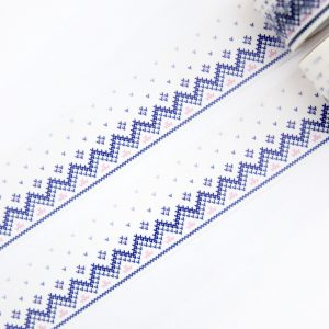Knitted Border Washi Tape - Design by Willwa