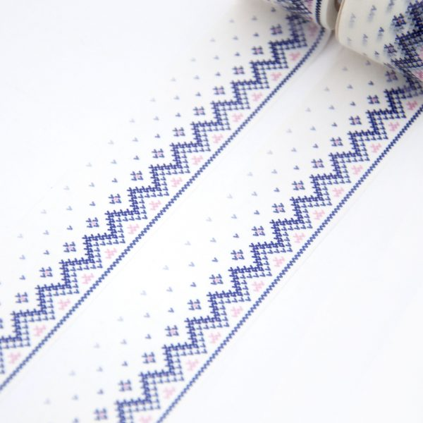 Knitted Border Washi Tape - Design by Willwa