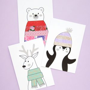 Creative Cards - Cute Animals - Design by Willwa