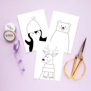 Creative Cards - Cute Animals - Design by Willwa