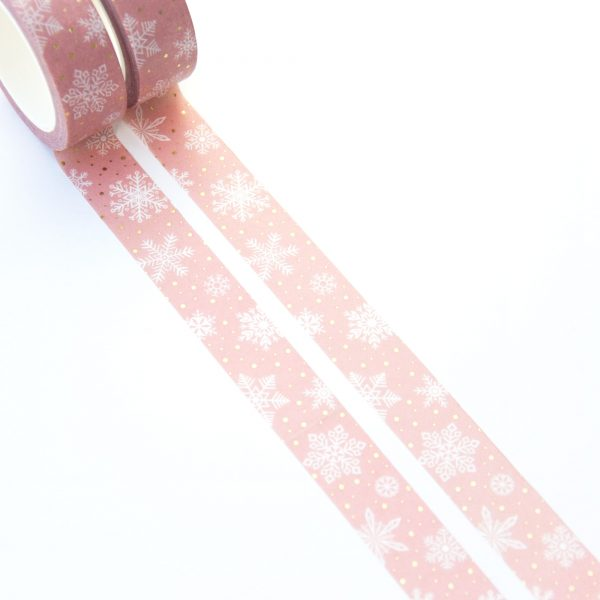 Snowflake Sprinkle Washi Tape - Design by Willwa