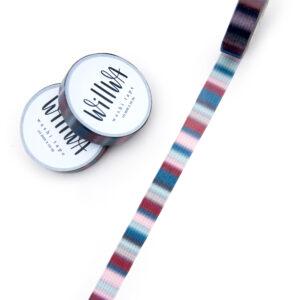 Striped Scarf Washi Tape - Design by Willwa