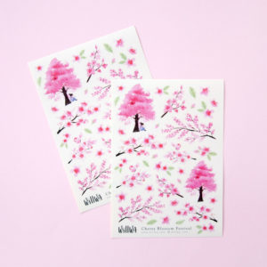 Cherry Blossom Festival Stickers - Design by Willwa