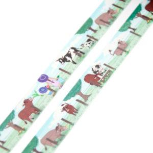 Grazing Cows Washi Tape - Design by Willwa