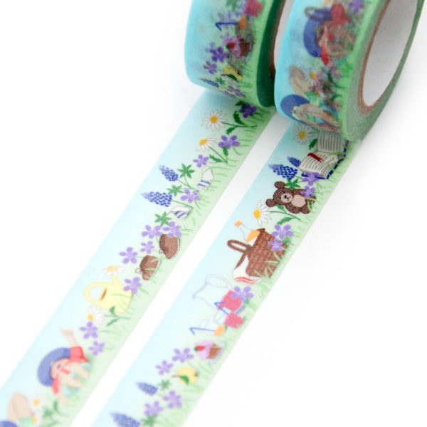 Resting in the Grass Washi Tape - Design by Willwa