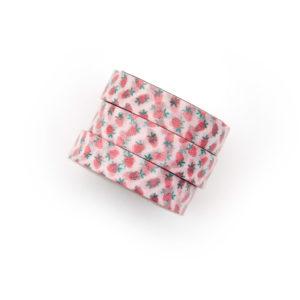 Tiny Strawberries Washi Tape - Design by Willwa