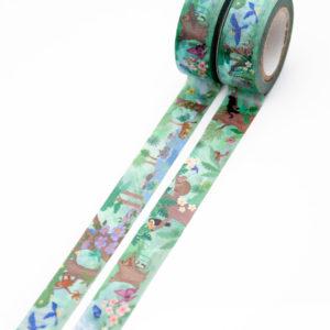 In the Jungle Washi Tape - Design by Willwa