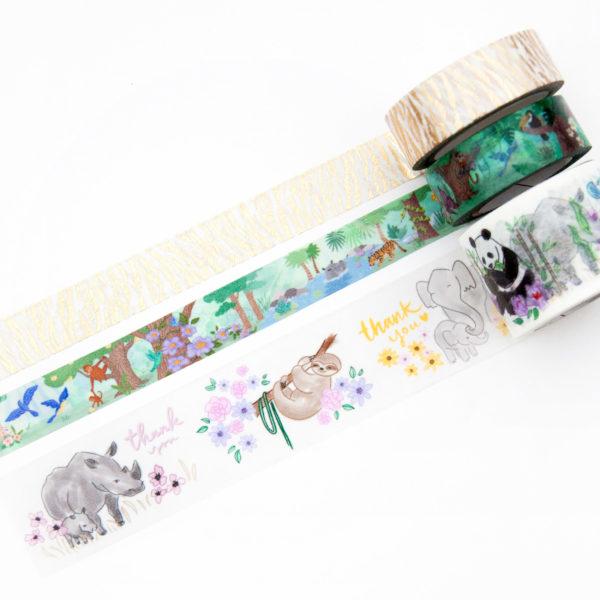 Save the World Washi Bundle - Design by Willwa