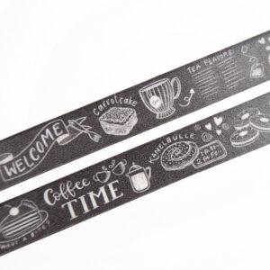 Cafe Menu Washi Tape - Design by Willwa