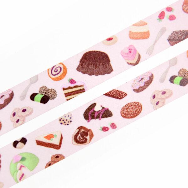 Cake Party Washi Tape - Design by Willwa