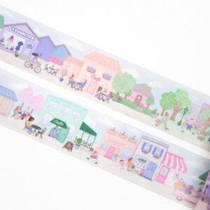 City of Cafes Washi Tape - Design by Willwa