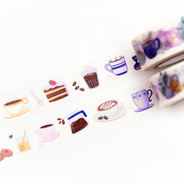 Cups and Pots Washi Tape - Design by Willwa