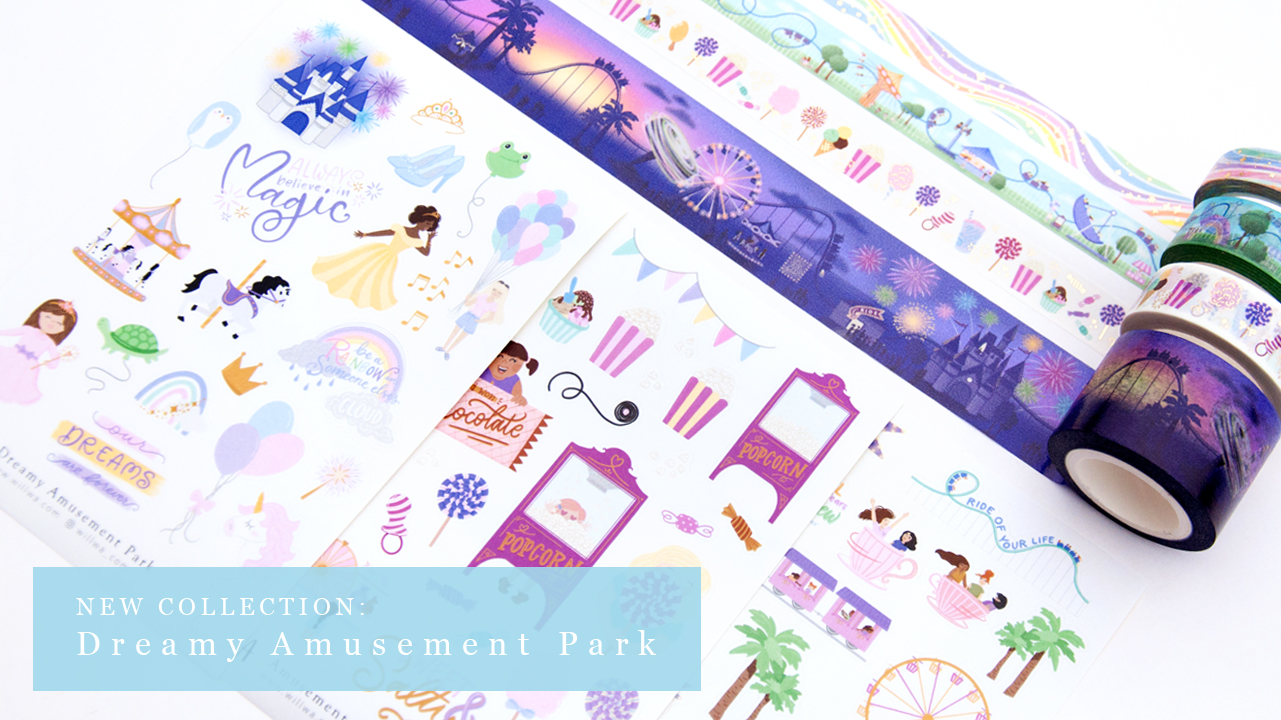 Dreamy Amusement Park Collection - Design by Willwa