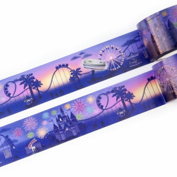 Evening Rides Washi Tape - Design by Willwa
