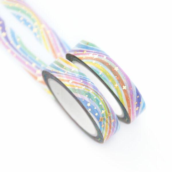 Rainbow Sparkles Washi Tape - Design by Willwa