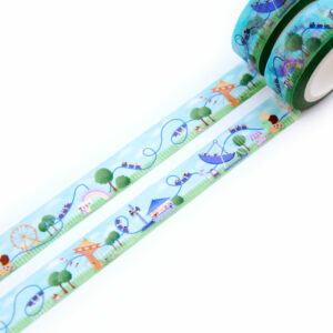 Roller Coaster Washi Tape - Design by Willwa