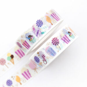 Sweet and Salty Washi Tape - Design by Willwa